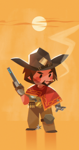 tinysnails:  McCree!! is a beb.: tinysnails:  McCree!! is a beb.