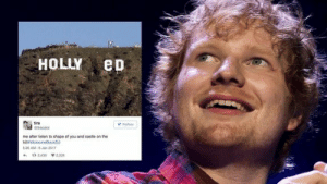 Twitter responds to Ed Sheeran's new music with a glorious meme fest: tira  me atter lsten to shape of you and castie on the  26 AM-8Jan 2017  2439 2.225 Twitter responds to Ed Sheeran's new music with a glorious meme fest