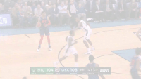 Dunk, Espn, and Memes: tlm  MIL 104  OKC 108 4th| 1:21 |20 ESPn  TO2  BONUS TO:2  BONUS  NEA SUNDAY Paul George had 36 PTS (12-21 FG, 8-12 3PT), 13 REB, 3 AST, 3 STL & 1 poster dunk on Giannis!   (Via @NBA)   https://t.co/qal4toxtIb