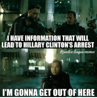 How Slipknot really died. -Nightwing Expect a bit of political humor with the election coming up. Try not to get offended, and don't take any of my memes as an indication of my political stances - they're all just jokes.: TM  HAVE INFORMATION THAT WILL  LEAD TO HILLARY CLINTON'S ARREST  Gjustce.league.memes  I'M GONNA GET OUT OF HERE How Slipknot really died. -Nightwing Expect a bit of political humor with the election coming up. Try not to get offended, and don't take any of my memes as an indication of my political stances - they're all just jokes.