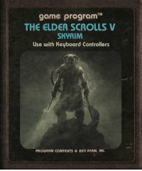 Coming soon to the Ataribox: TM  THE ELDER SCROLLS  SKYRIM  Use with Keyboard Controllers  PROGRAM CONTENTS © 2011 ATARI, INC. Coming soon to the Ataribox