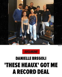 """Anaconda, Memes, and Music: TMZ com  EXCLUSIVE  DANIELLE BREGOLI  THESE HEAUX' GOT ME  A RECORD DEAL """" DanielleBregoli just joined the ranks of BrunoMars, EdSheeran, WizKhalifa and CardiB ... cuz she just scored a record deal with AtlanticRecords. Sources close to the situation tell us Danielle caught the attention of record execs after her first single, """"These Heaux,"""" generated unexpected success. The song's music video already has 21 million views and we're told that Bregoli is the youngest female rapper to chart on the Hot 100 at 77. We're told the deal includes multiple albums and is worth millions ... Bregoli signed the contract under her rap name, """"Bhad Bhabie."""" Say what you want about the girl ... but she's raking in the dough."""" 👌🤑 @tmz_tv @bhadbhabie WSHH"""