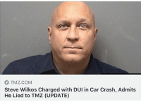 TMZ.COM  Steve Wilkos Charged with DUI in Car Crash, Admits  He Lied to TMZ (UPDATE)