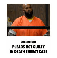 "Family, God, and Lawyer: TMZ com  SUGE KNIGHT  PLEADS NOT GUILTY  IN DEATH THREAT CASE "" SugeKnight is pleading not guilty to one felony count of making death threats against ""Straight Outta Compton"" director F. Gary Gray. Suge was in court Thursday morning in Downtown L.A. with his lawyer, Mathew Fletcher, to enter the plea. Additionally, Fletcher claimed Suge's phone has been blocked and he can't communicate with his attorneys. Mathew wants visitations to include calls to his attorney's office. Outside the courtroom, Fletcher read what he says are the only texts he's seen between Knight and Gray. One read, ""You have family, I have family, God bless you."" Fletcher says Suge and the director had been arguing about whether Suge deserved a fee because he was being portrayed in 'Compton.' TMZ broke the story ... the L.A. County Grand Jury indicted Suge for criminal threats he allegedly made to Gray in August 2014, during filming of the movie."" 👀 @tmz_tv WSHH"