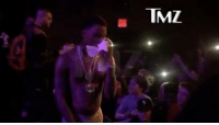 "Memes, Swole, and The Ring: TMZ "" SouljaBoy isn't letting ChrisBrown off the hook for the celeb boxing match that never was - in fact he's smack talking like they're still getting in the ring. Soulja dragged Chris, verbally, during a concert in Minneapolis this weekend ... claiming CB agreed to the fight, signed on to fight, but then backed out ... out of fear. Chris' explanation was he wasn't comfortable with the people trying to make money off the fight. Soulja's definitely not buying that. We'll say this, he does look a little more swole. But this is real tough talk from a guy showing off his tightie whities - and a lot of 'em!"" 👀 (via @tmz_tv) WSHH"