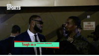 Memes, Sports, and Wshh: TMZ  SPORTS  FOC  REQUIRES  e se e e k* kk*x  lough as LeBronJames and JRSmith disscuss ConorMcGregor's performance against FloydMayweather after the fight on Saturday! 🥊👍💯 @TMZ_TV @KingJames @TeamSwish WSHH