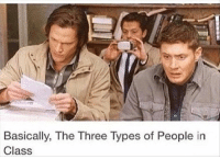 Funny, Memes, and Mondays: to  Basically, The Three Types of People in  Class 27 Funny Memes To Cure Your Case Of The Mondays 15