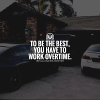 I rather hustle 24-7 for my dreams than just a basic 9-5 for someone else's dream. 💯 millionairementor: TO BE THE BEST  YOU HAVE TO  WORK OVERTIME  @MILLIONAIRE MENTOR I rather hustle 24-7 for my dreams than just a basic 9-5 for someone else's dream. 💯 millionairementor