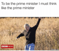 Memes, 🤖, and Think: To be the prime minister I must think  like the prime minister  BBCNEWS  mematcinet