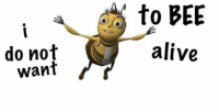 dank beeme (bee meme): to BEE  do not  alive  want dank beeme (bee meme)
