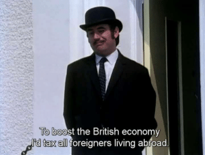 British Empire laying the foundation of Britains economy (1500): To boost the British economy  I'd tax all foreigners living abroad British Empire laying the foundation of Britains economy (1500)