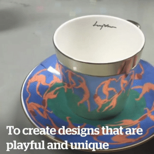 The coolest mug and saucer sets you'll ever see! 😍😱  Credit: Luycho: To create designs that are  playful and unique The coolest mug and saucer sets you'll ever see! 😍😱  Credit: Luycho
