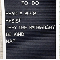 Memes, Book, and Image: TO DO  READ A BOOK  RESIST  DEFY THE PATRIARCHY  BE KIND  NAP And eat too! 😊 Image via @lasofty