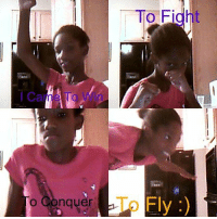 Fight, Fly, and Conquer: To Fight  o Conquer  To Fly:)