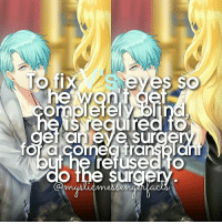 Memes, 🤖, and Eye: To fix  he  Neo uired fo  et an eye Sur  for CornegHra  refuse  the Sur open for more🌌   Info by: - ⠀ ❄ Character: Jihyun Kim - V ⠀ ;-; my sON ⠀ Q ♔ - A ♚ - ⠀ -《 🌸🍃 》 ⠀ ταgs ‿➹⁀ MysticMessenger Zen RyuHyun JaeheeKang JuminHan Yoosung YoosungKim Seven 707 LucielChoi SaeyoungChoi SaeranChoi Saeran Rika V Otome OtomeGame Facts MysticMessengerFact ProtectV2k16 Anime ☞This fact is proven!☜