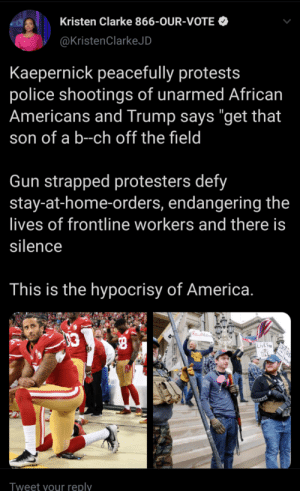 "To Kaepernick peacefully protests, Trump says ""get that son of a b–ch off the field by fecome MORE MEMES: To Kaepernick peacefully protests, Trump says ""get that son of a b–ch off the field by fecome MORE MEMES"