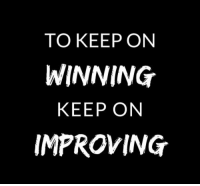 RT @AthleteSwag: Motivational quote of the day! https://t.co/NmzvM8zteS: TO KEEP ON  WINNING  KEEP ON  IMPROVING RT @AthleteSwag: Motivational quote of the day! https://t.co/NmzvM8zteS