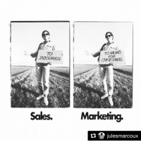 Repost from @julesmarcoux - this is the perfect example of the difference of marketing vs sales. Do you agree? Make sure you follow him for more tips on marketing 👉 @julesmarcoux: TO MMS  70  JACKSONVILLE  CHRISTMAS  Sales.  Marketing,  9 julesmarcoux  ti Repost from @julesmarcoux - this is the perfect example of the difference of marketing vs sales. Do you agree? Make sure you follow him for more tips on marketing 👉 @julesmarcoux