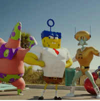 Memes, Nickelodeon, and SpongeBob: To save their world.. they have to come to ours 🏖 Sponge Out of Water heads to Nickelodeon tomorrow night at 8p-7c! 💛 spongebob movienight