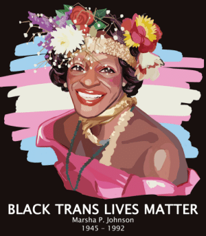 toastchild:Happy  Pride and don't forget that black trans women like Marsha P. Johnson  fought for, and are the reason we have the rights that we as lgbtq+  people have today!!!  : toastchild:Happy  Pride and don't forget that black trans women like Marsha P. Johnson  fought for, and are the reason we have the rights that we as lgbtq+  people have today!!!
