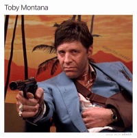 Memes, Montana, and 🤖: Toby Montana  adam.the.creator  MADE WITH MOMUs HRface