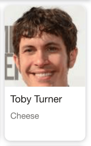 Cheese: Toby Turner  Cheese Cheese