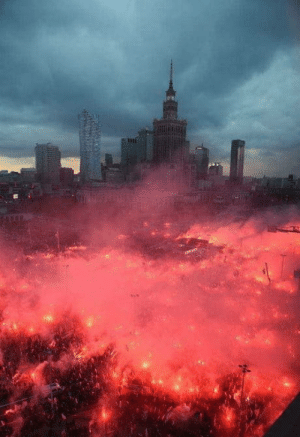 Today, Poland, and Warsaw: Today 11.11 Poland is celebrating the century of independence! Warsaw today: