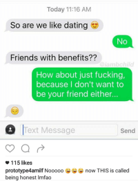 dating my friend with benefits