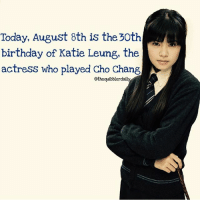 Who was your favorite Ravenclaw? lunalovegood: Today, August 8th is the 30th  birthday of Katie Leung, the  actress who played Cho Chang  othequibblerdaily Who was your favorite Ravenclaw? lunalovegood