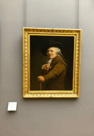 Paris, Today, and French: Today I visited Louvre in Paris. When I entered the room dedicated to 18th century French painters, I nearly screamed laughing, you ruined me