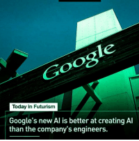 "Computers, Tumblr, and Blog: Today in Futurism  Google's new Al is better at creating Al  than the company's engineers. <p><a href=""http://scifiseries.tumblr.com/post/161407116174/self-aware-computers-when"" class=""tumblr_blog"">scifiseries</a>:</p>  <blockquote><p>Self aware computers when?</p></blockquote>"