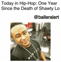 Today in Hip-Hop: One Year Since the Death of Shawty Lo-blogged by @thereal__bee ⠀⠀⠀⠀⠀⠀⠀⠀⠀ ⠀⠀ One year ago today, the world lost Atlanta native and rapper ShawtyLo. ⠀⠀⠀⠀⠀⠀⠀⠀⠀ ⠀⠀ Born Carlos Rico Walker, Shawty Lo got his start in music in 2003 as a founding member of the rap group D4L. Alongside other group members, Fabo, Mook-B and Stoney, the group had much success with their debut album 'Down for Life' which brought us chart topping hits like 'Laffy Taffy' and 'Betcha Can't Do It Me'. ⠀⠀⠀⠀⠀⠀⠀⠀⠀ ⠀⠀ In 2007, just two years after D4L's album release, Walker released his debut solo single 'Dey Know'. The single was an instant hit, charting in the Top 40 of the Billboard Hot 100 and earning him three Bet Hip-Hop Awards. ⠀⠀⠀⠀⠀⠀⠀⠀⠀ ⠀⠀ Walker died Sept. 21, 2016 from a car accident in Fulton County, Georgia. The accident happened around 2:20 a.m. when Walker's car went over a guardrail, hitting two trees, and catching fire. The rapper was ejected from the car and pronounced dead at the scene. ⠀⠀⠀⠀⠀⠀⠀⠀⠀ ⠀⠀ While Walker died rather young at the age of 40, his career was impactful enough to earn him tributes from other great artists such as Beyonce, GucciMane, LilKim, Future, and many more. rip: Today in Hip-Hop: One Year  Since the Death of Shawty Lo  @balleralert Today in Hip-Hop: One Year Since the Death of Shawty Lo-blogged by @thereal__bee ⠀⠀⠀⠀⠀⠀⠀⠀⠀ ⠀⠀ One year ago today, the world lost Atlanta native and rapper ShawtyLo. ⠀⠀⠀⠀⠀⠀⠀⠀⠀ ⠀⠀ Born Carlos Rico Walker, Shawty Lo got his start in music in 2003 as a founding member of the rap group D4L. Alongside other group members, Fabo, Mook-B and Stoney, the group had much success with their debut album 'Down for Life' which brought us chart topping hits like 'Laffy Taffy' and 'Betcha Can't Do It Me'. ⠀⠀⠀⠀⠀⠀⠀⠀⠀ ⠀⠀ In 2007, just two years after D4L's album release, Walker released his debut solo single 'Dey Know'. The single was an instant hit, charting in the Top 40 of the Billboard Hot 100 and earning him three Bet Hip-Hop Awards. ⠀⠀⠀⠀⠀⠀⠀⠀⠀ ⠀⠀ Walker died Sept. 21, 2016 from a car accident in Fulton County, Georgia. The accident happened around 2:20 a.m. when Walker's car went over a guardrail, hitting two trees, and catching fire. The rapper was ejected from the car and pronounced dead at the scene. ⠀⠀⠀⠀⠀⠀⠀⠀⠀ ⠀⠀ While Walker died rather young at the age of 40, his career was impactful enough to earn him tributes from other great artists such as Beyonce, GucciMane, LilKim, Future, and many more. rip