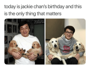 Birthday, Love, and Today: today is jackie chan's birthday and this  is the only thing that matters I love photos like these