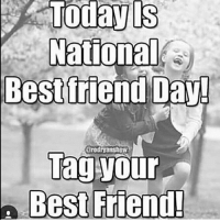 best friends day: Today is  National  Best friend Day!  arodiyanshow  Tag your  Best Friend!