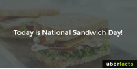 Facts, Food, and Memes: Today is National Sandwich Day!  uber  facts See where you can get a free sandwich... http://www.ibtimes.com/national-sandwich-day-freebies-2016-free-food-discounts-coupons-subway-arbys-more-2440649