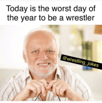 Happy thanksgiving 🦃: Today is the worst day of  the year to be a wrestler  @wrestling_jokes Happy thanksgiving 🦃