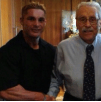 Memes, 🤖, and Legend: Today March 23 marks the anniversary of the passing of Joe Weider. I had the privilege to meet Joe on numerous occasions, each and every time was a memory and a story I will always cherish. - In this photo pictured: myself and Joe in his office in WoodlandHills, California the day I signed with Weider Publications at 23. - We all owe this man so much, he created the foundations of what we all have today. Everyone has been influenced by Joe's pioneering directly or indirectly. I like to take this time to say thank you Joe for everything, gone but not forgotten! joeweider RIP GoneButNotForgotten bodybuilding Legend TheMasterBlaster