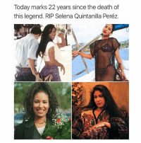 Such a beautiful, talented woman.: Today marks 22 years since the death of  this legend. RIP Selena Quintanilla Peréz. Such a beautiful, talented woman.