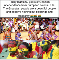 Big up to all the beautiful Ghanian people reading this :) Nothing but love 🇬🇭 ❤🖤💚: Today marks 60 years of Ghanian  independence from European colonial rule  The Ghanaian people are a beautiful people  and deserve nothing but blessings and  prosperity  rs Big up to all the beautiful Ghanian people reading this :) Nothing but love 🇬🇭 ❤🖤💚