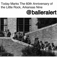 Today Marks The 60th Anniversary of the Little Rock, Arkansas Nine- blogged by @niksofly ⠀⠀⠀⠀⠀⠀⠀⠀⠀⠀⠀⠀⠀⠀⠀⠀⠀⠀⠀⠀⠀⠀⠀⠀⠀⠀⠀⠀⠀⠀⠀⠀⠀ It's more than an honor to celebrate those who sacrificed their anonymity to serve as catalysts to promote change. ⠀⠀⠀⠀⠀⠀⠀⠀⠀⠀⠀⠀⠀⠀⠀⠀⠀⠀⠀⠀⠀⠀⠀⠀⠀⠀⠀⠀⠀⠀⠀⠀⠀ On September 25, 1957, nine adolescents were caught between state and federal governments and authorities as they were attempting to desegregate Central High. ⠀⠀⠀⠀⠀⠀⠀⠀⠀⠀⠀⠀⠀⠀⠀⠀⠀⠀⠀⠀⠀⠀⠀⠀⠀⠀⠀⠀⠀⠀⠀⠀⠀ Thelma Mothershed Wair, Minnijean Brown Trickey, Terrence Roberts, Carlotta Walls LaNier, Gloria Ray Karlmark, Ernest Green, Elizabeth Eckford and Melba Pattillo Beals were escorted into Central by U.S. Army Troops per President Dwight D. Eisenhower. Met with opposition from Arkansas governor Orval Faubus who called in the National Guard, these phenomenal individuals change the trajectory of history. ⠀⠀⠀⠀⠀⠀⠀⠀⠀⠀⠀⠀⠀⠀⠀⠀⠀⠀⠀⠀⠀⠀⠀⠀⠀⠀⠀⠀⠀⠀⠀⠀⠀ Greeted by segregationist mobs and opposers, these nine persevered. Today we, Baller Alert salutes the Little Rock Nine. Their sacrifice changed history and although we have a bit further to go, their selflessness has brought us thus far. ⠀⠀⠀⠀⠀⠀⠀⠀⠀⠀⠀⠀⠀⠀⠀⠀⠀⠀⠀⠀⠀⠀⠀⠀⠀⠀⠀⠀⠀⠀⠀⠀⠀ At this time BA will like to acknowledge the passing of one of the catalysts. As the Nine embark upon the 60th anniversary, one member will be with the unit in spirit. Jefferson Thomas passed on September 5, 2010 from pancreatic cancer.: Today Marks The 60th Anniversary of  the Little Rock, Arkansas Nine  @balleralert Today Marks The 60th Anniversary of the Little Rock, Arkansas Nine- blogged by @niksofly ⠀⠀⠀⠀⠀⠀⠀⠀⠀⠀⠀⠀⠀⠀⠀⠀⠀⠀⠀⠀⠀⠀⠀⠀⠀⠀⠀⠀⠀⠀⠀⠀⠀ It's more than an honor to celebrate those who sacrificed their anonymity to serve as catalysts to promote change. ⠀⠀⠀⠀⠀⠀⠀⠀⠀⠀⠀⠀⠀⠀⠀⠀⠀⠀⠀⠀⠀⠀⠀⠀⠀⠀⠀⠀⠀⠀⠀⠀⠀ On September 25, 1957, nine adolescents were caught between state and federal governments and authorities as they were attempting to desegregate Central High. ⠀⠀⠀⠀⠀⠀⠀⠀⠀⠀⠀⠀⠀⠀⠀⠀⠀⠀⠀⠀⠀⠀⠀⠀⠀⠀⠀⠀⠀⠀⠀⠀⠀ Thelma Mothershed Wair, Minnijean Brown Trickey, Terrence Roberts, Carlotta Walls LaNier, Gloria Ray Karlmark, Ernest Green, Elizabeth Eckford and Melba Pattillo Beals were escorted into Central by U.S. Army Troops per President Dwight D. Eisenhower. Met with opposition from Arkansas governor Orval Faubus who called in the National Guard, these phenomenal individuals change the trajectory of history. ⠀⠀⠀⠀⠀⠀⠀⠀⠀⠀⠀⠀⠀⠀⠀⠀⠀⠀⠀⠀⠀⠀⠀⠀⠀⠀⠀⠀⠀⠀⠀⠀⠀ Greeted by segregationist mobs and opposers, these nine persevered. Today we, Baller Alert salutes the Little Rock Nine. Their sacrifice changed history and although we have a bit further to go, their selflessness has brought us thus far. ⠀⠀⠀⠀⠀⠀⠀⠀⠀⠀⠀⠀⠀⠀⠀⠀⠀⠀⠀⠀⠀⠀⠀⠀⠀⠀⠀⠀⠀⠀⠀⠀⠀ At this time BA will like to acknowledge the passing of one of the catalysts. As the Nine embark upon the 60th anniversary, one member will be with the unit in spirit. Jefferson Thomas passed on September 5, 2010 from pancreatic cancer.