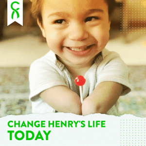 Today our community comes together to make a difference! Meet Henry: the 4 year old from Missouri who was born with a limb difference that kept the bottom half of his legs & arms from developing. Let's see how quickly we can raise $10,000! Donate here: https://t.co/u2VvepSjwv https://t.co/5uHLkhmTaD: Today our community comes together to make a difference! Meet Henry: the 4 year old from Missouri who was born with a limb difference that kept the bottom half of his legs & arms from developing. Let's see how quickly we can raise $10,000! Donate here: https://t.co/u2VvepSjwv https://t.co/5uHLkhmTaD