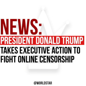 """Today, President Donald Trump stated, """"I am signing an executive order to protect and uphold the free speech and rights of the American people,"""" after Twitter started fact-checking his tweets! 👀😳 @realDonaldTrump https://t.co/pYgcVOxAFv: Today, President Donald Trump stated, """"I am signing an executive order to protect and uphold the free speech and rights of the American people,"""" after Twitter started fact-checking his tweets! 👀😳 @realDonaldTrump https://t.co/pYgcVOxAFv"""
