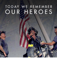 Never forget the courageous citizens who helped during the 9/11 attack. The fight against terror is not over but together we will rise above it all.  SHARE to honor our brave American heroes!: TODAY WE REMEMBER  OUR HEROES Never forget the courageous citizens who helped during the 9/11 attack. The fight against terror is not over but together we will rise above it all.  SHARE to honor our brave American heroes!