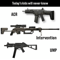 Sad reacts only :(: Today's kids will never know  ACR  Intervention  UMP Sad reacts only :(