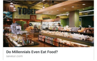 Food, Wine, and Millennials: TOGEL  Do Millennials Even Eat Food?  saveur.com <p>We don&rsquo;t eat. We survive of cheap wine and the bitter tears of Baby Boomers.</p>