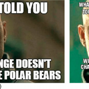 "a) and (b) ""Impact"" frame / ""Convinced"" logic memes. 