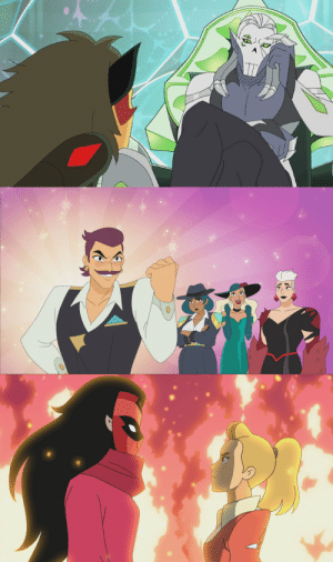 tolstoyevskywrites:  New stills from Season 5 of She-Ra! (x)We've got Horde Prime looking judgmental, Sea Hawk and the others all dressed up, and Adora confronting Shadow Weaver!   Horde Prime is me when i am deciding if i should beat or kick my brother for eating my chicken nuggets: tolstoyevskywrites:  New stills from Season 5 of She-Ra! (x)We've got Horde Prime looking judgmental, Sea Hawk and the others all dressed up, and Adora confronting Shadow Weaver!   Horde Prime is me when i am deciding if i should beat or kick my brother for eating my chicken nuggets