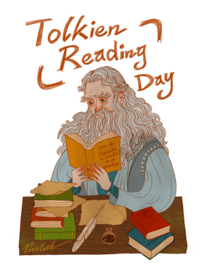 tolstoyevskywrites:  norloth:A picture for March 25th, the date when the One Ring was destroyed and Sauron was defeated, aka Tolkien Reading Day. What do you plan to read? Happy Tolkien Reading Day!!!: tolstoyevskywrites:  norloth:A picture for March 25th, the date when the One Ring was destroyed and Sauron was defeated, aka Tolkien Reading Day. What do you plan to read? Happy Tolkien Reading Day!!!