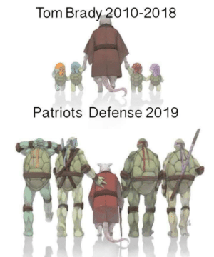 SPOT ON https://t.co/azyFkjk7Ho: Tom Brady 2010-2018  Patriots Defense 2019 SPOT ON https://t.co/azyFkjk7Ho