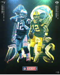 1️⃣2️⃣ DAYS. #Kickoff2018 https://t.co/a4Y1f1O0MZ: TOM BRADY  OB / NEW ENGLAND PATRIOTS  2018  AARON RODGERS  QB/ GREEN BAY PACKERS  0  2 1️⃣2️⃣ DAYS. #Kickoff2018 https://t.co/a4Y1f1O0MZ